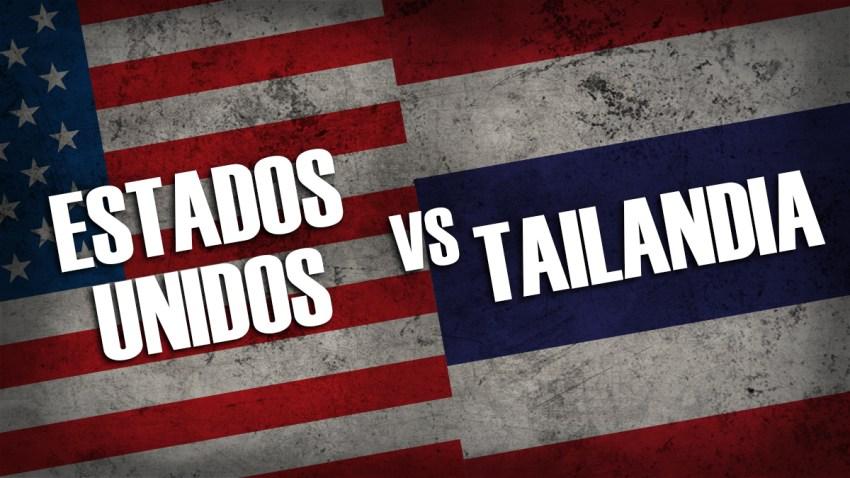 Estados Unidos vs Tailandia