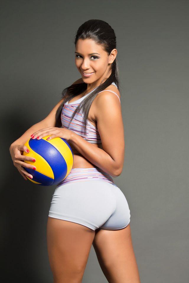 Conoce a Rocío Miranda, voleibolista sexy - Telemundo New