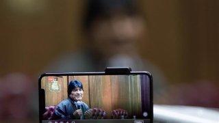 Imagen del expresidente Evo Morales