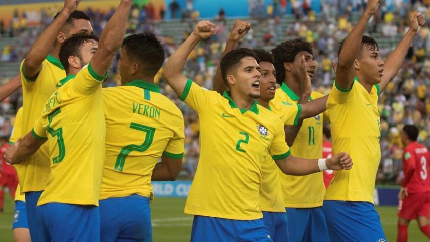 Brasil derrota a Canadá en el Mundial Sub 17