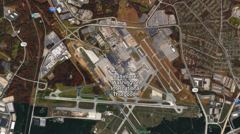 TLMD-Baltimore-Washington International Thurgood Marshall Airport