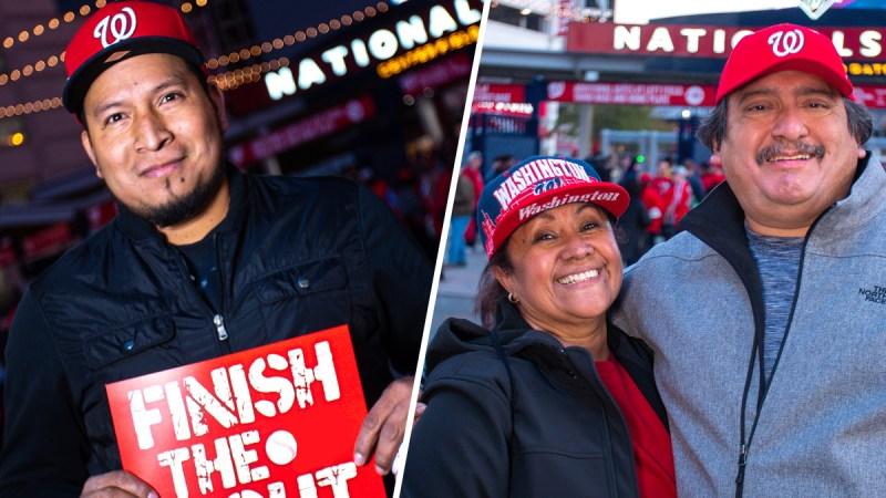 Aficionados de los Nationals comparten sus historias