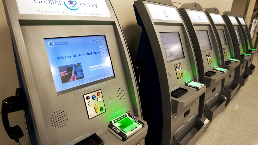 Global Entry machines