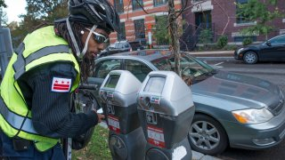 A D.C. parking enforcement officer
