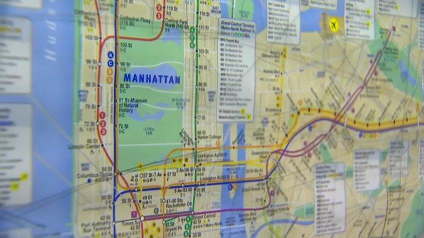 MTA subway map 2