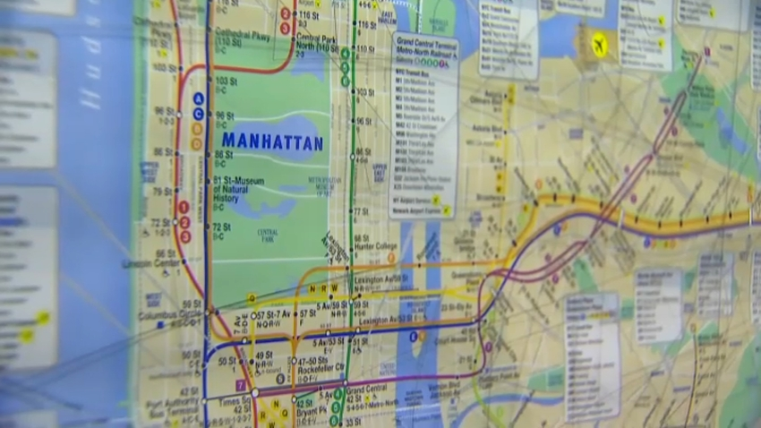 MTA subway map 2