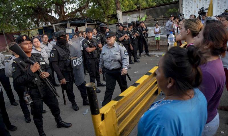Niacaragua-presospoliticos