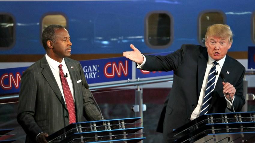 TLMD-ben-carson-donald-trump-candidatos-republicanos-GettyImages-488667652