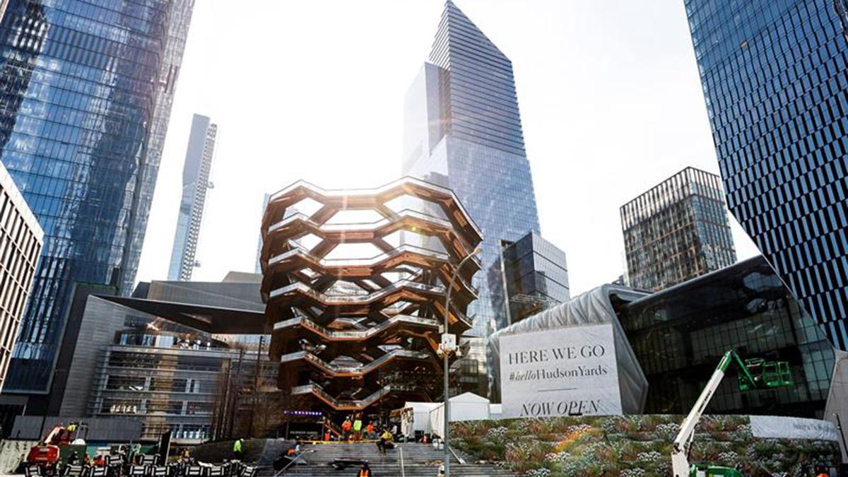 NY inaugura titánica zona comercial Hudson Yards – Telemundo