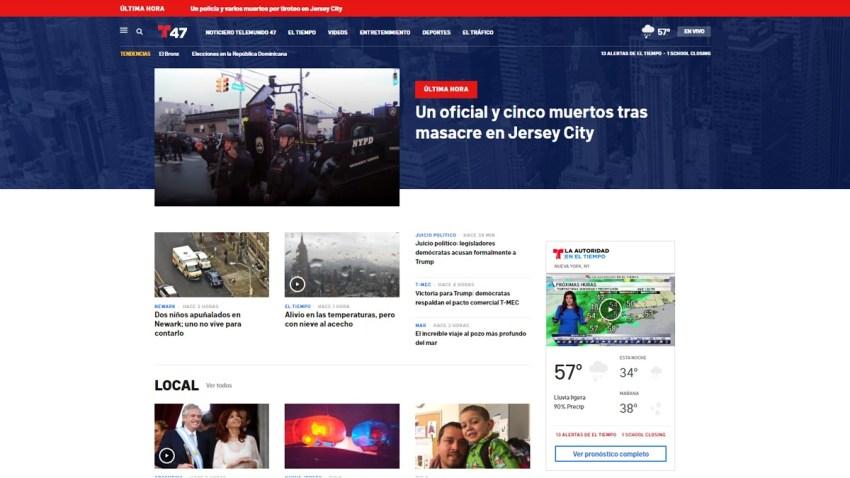 Nuevo sitio web Telemundo 47