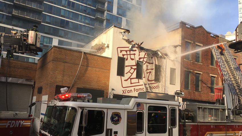 Long Island City restaurant fire