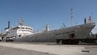 Barco ruso busca el Polo Sur Magnético con un mapa de papel