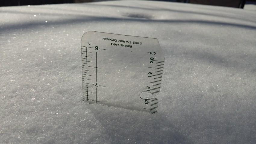[UGCDFW-CJ-weather]Wylie snow total