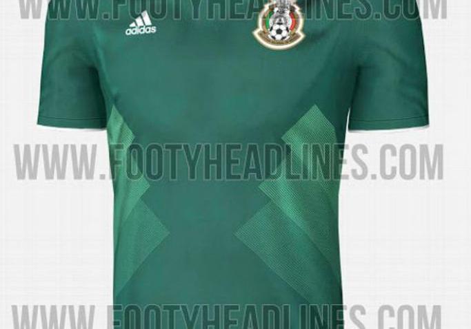 [FIFA2017] Conoce la camiseta que México utilizaría en Confederaciones