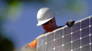 clean renewable energy solar panels
