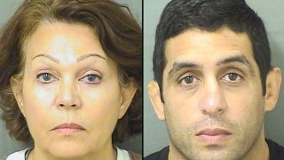 cold case arrests mugshots of dolores morgan, left, and her son ted connors, right