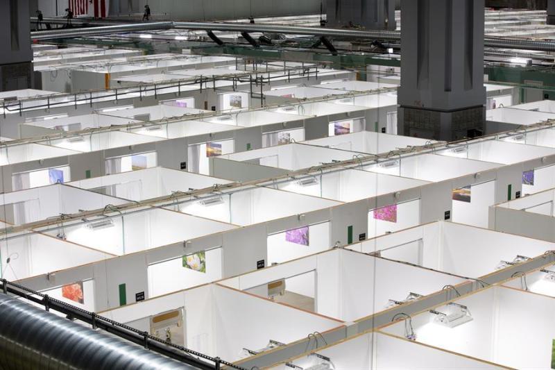 Por dentro: transforman centro de convenciones de DC en hospital de campaña