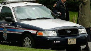 Fairfax County Police Car