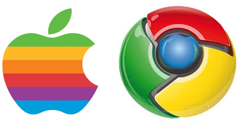 google-y-apple-logos