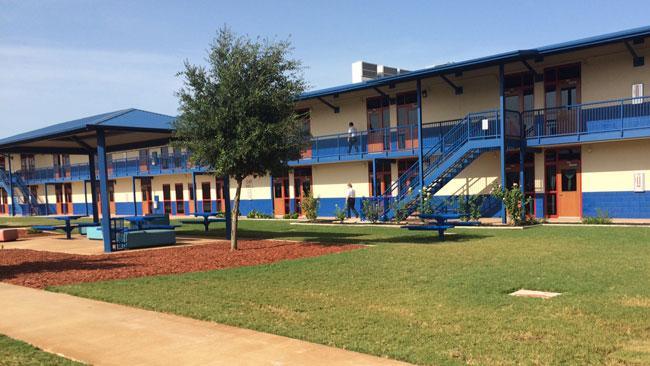 Centro de detención en Karnes City