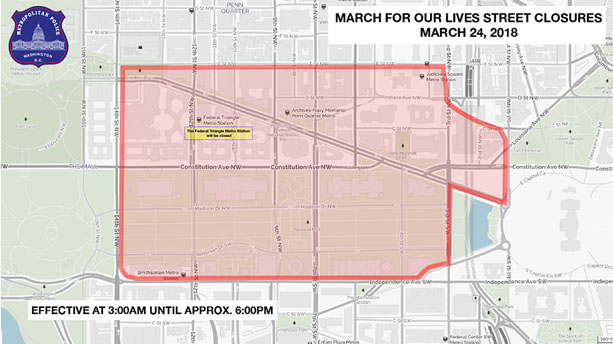 march for lives map