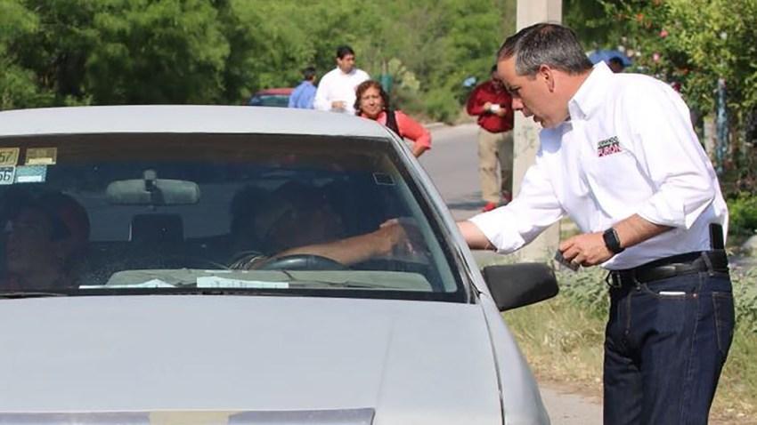 el candidato Fernando Purón Johnston asesinado en 2018