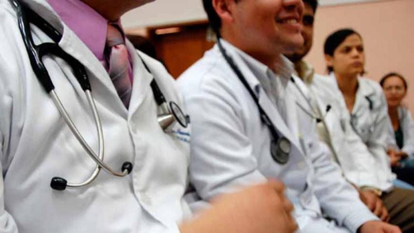 Estudiantes de medicina en México