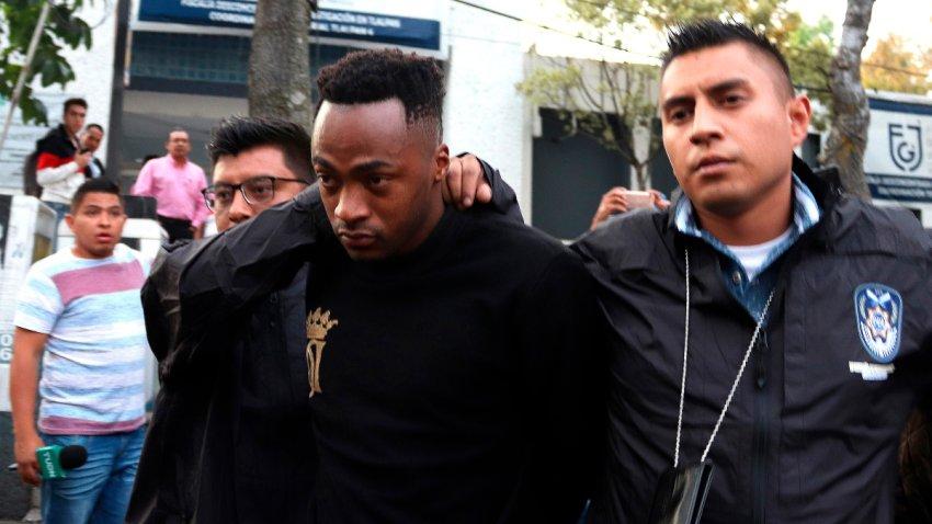Jugador ecuatoriano de fútbol detenido en México