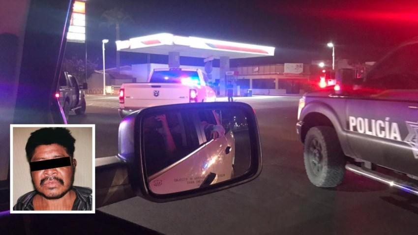Gasolinera en Caborca, Sonora