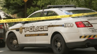 montgomery county police car