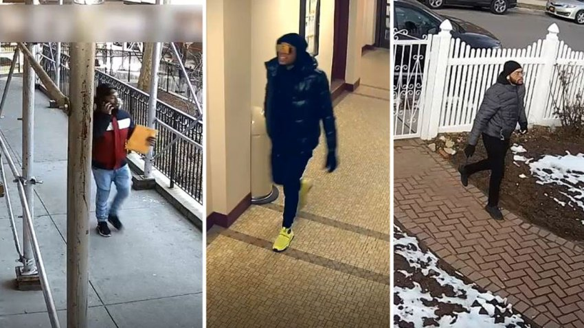 Photo shows at least two suspects who scammed elderly New York City residents out of thousands of dollars