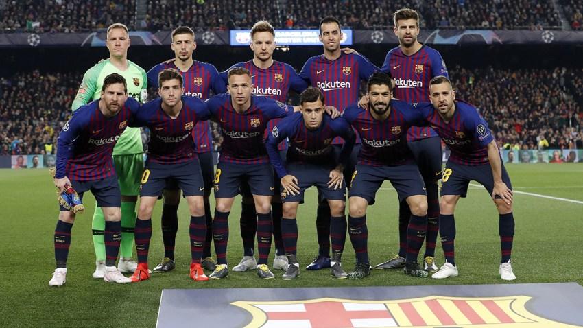 Foto de archivo del equipo FC Barcelona, el pasado 16 de abril 2019.