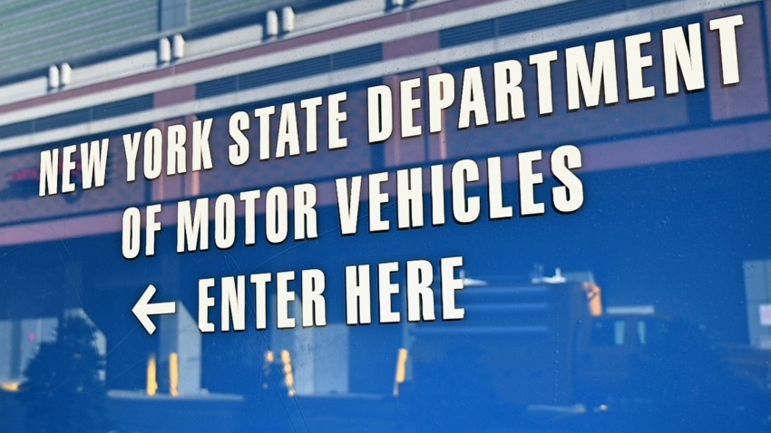 New York DMV sign
