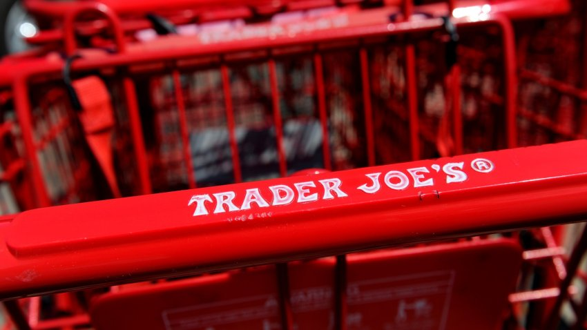 Trader Joe's cart.