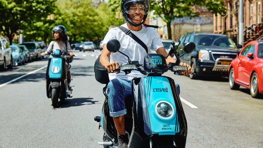 Revel scooter