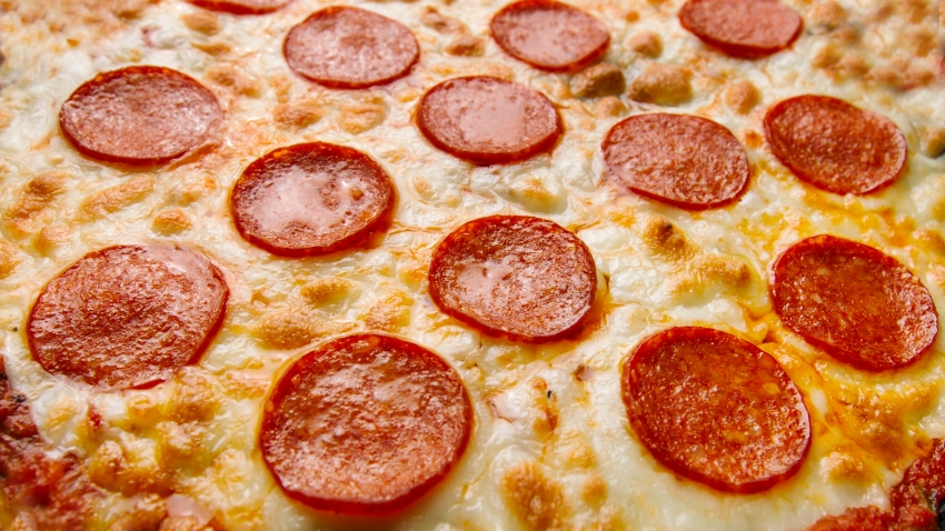 A file photo of pepperoni pizza.