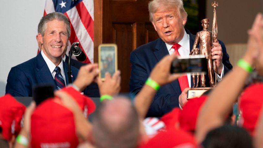 President Trump with Pat Lynch