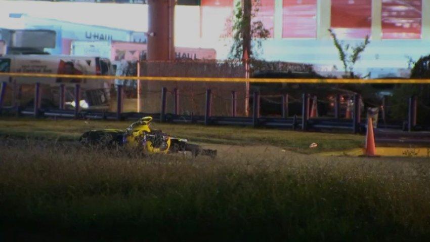 Centravel Avenue pedestrian crash scene