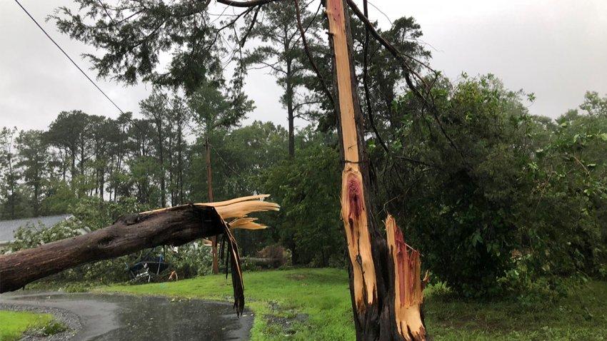 Tornado Damage Leonardtown