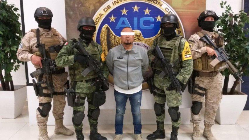 "Capturan a líder criminal alias ""El Marro"""