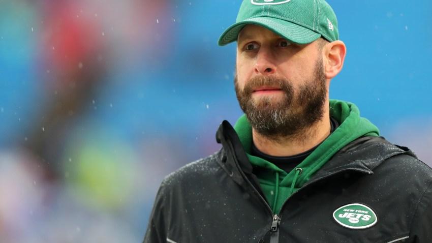 Head coach Adam Gase of the New York Jets