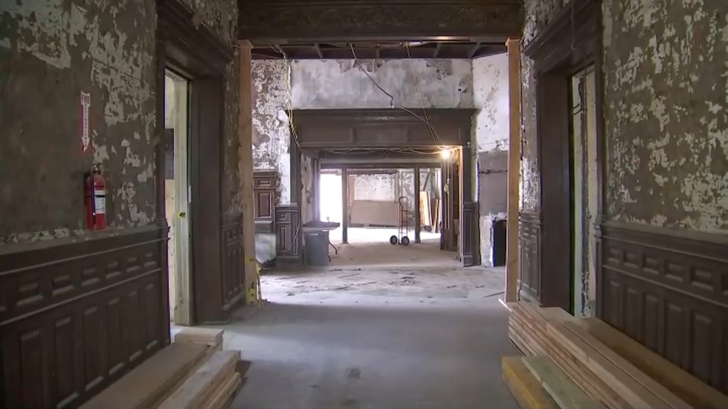 Inside the historic Krueger-Scott Mansion in Newark, New Jersey