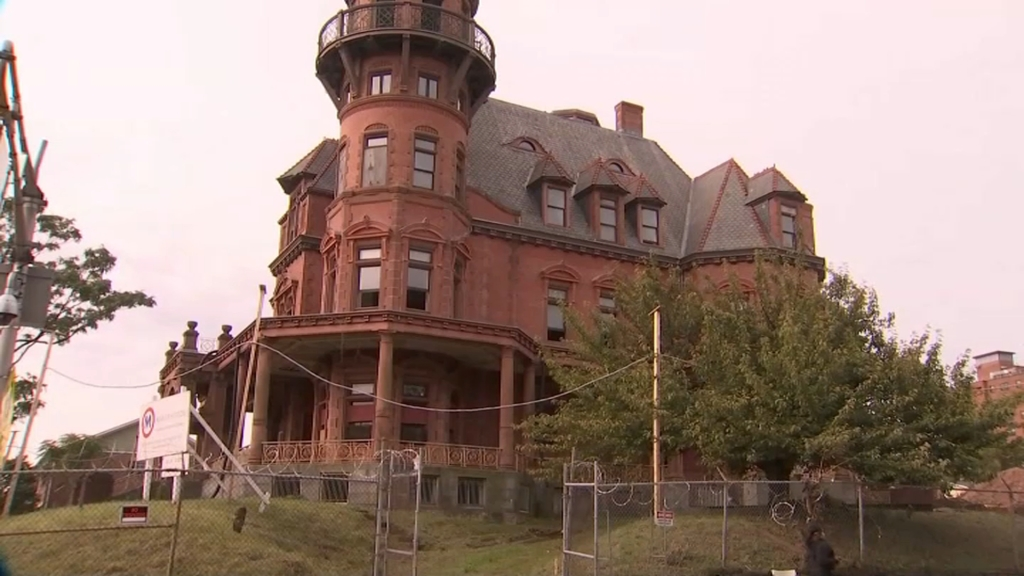 Historic Krueger-Scott Mansion in Newark, New Jersey