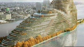 Proposed Roosevelt Island hi-rise