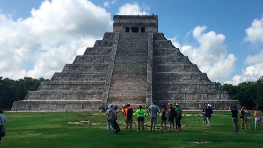 Pirámide de Chichén Itzá, en Yucatán