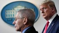 """Trump tilda a Fauci de """"desastre"""" y dice que sería """"una bomba"""" despedirlo"""