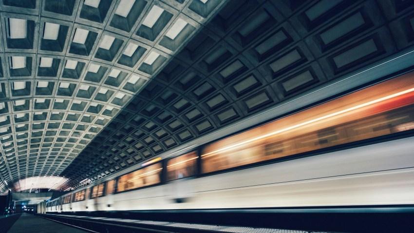 dc metro train generic