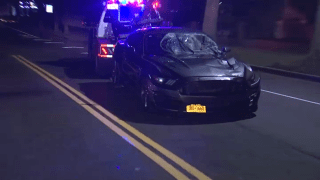 stolen mustang towed from scene of deadly hit-and-run