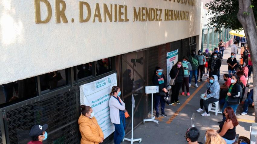 Saturación de hospitales en México