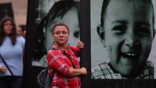 Madres de los bebés que murieron en la Guardería ABC